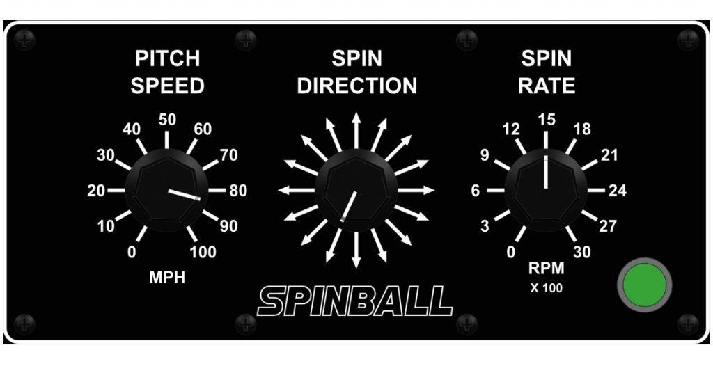 Spinball Wizard 3 Wheel Pitching Machine